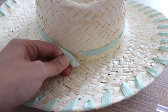 DIY customisez un chapeau en paille ilovedoityourself6