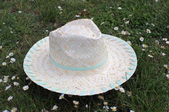 DIY customisez un chapeau en paille ilovedoityourself8