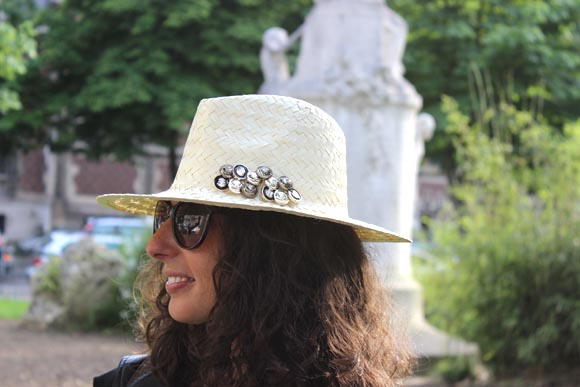 chapeau en paille customise ilovediy