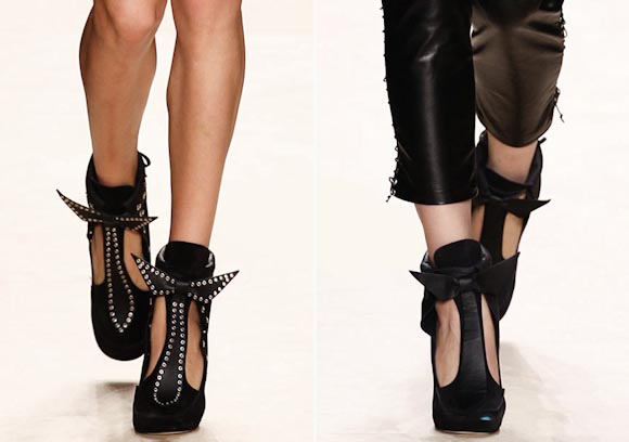 Isabel marant chaussures printemps ete 2014 - Recycler les chaussures ...