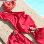DIY : Customisez un maillot de bain avec du liberty I Customize your bathing suit with liberty