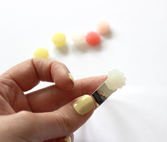 diy un braclet a fleur pastel2