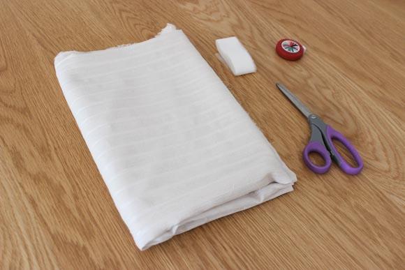 materiel pour creer un kimono sans coudre