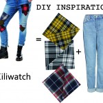 DIY Inspiration : Un jeans Tartan