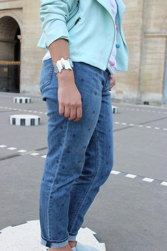 jeans a pois blog mode et diy paris