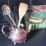 DIY : Détourner et customisez une théière en cuivre