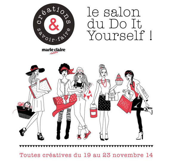 Salon creations et savoir faire blog mode bon plans et diy - Invitation salon savoir faire et creation ...