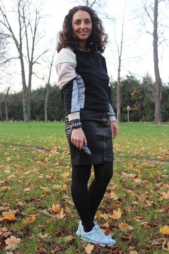 jupe et sneakers ilovediy