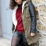 Look : Franges et cuir