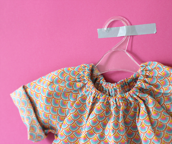 blouse bebe diy
