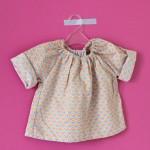 DIY : Une blouse pour bébé facile