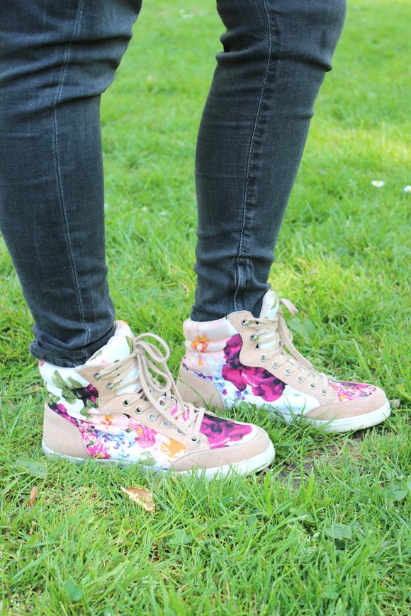sneakers fleuries forever21
