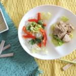 Recette : Salade de poulet à la citronnelle et vermicelle de riz