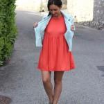 Look : Orange et turquoise le mariage qui marche
