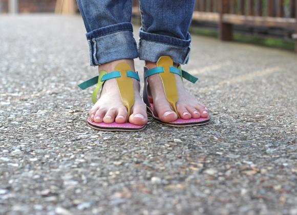 ma sandale personnaliséé