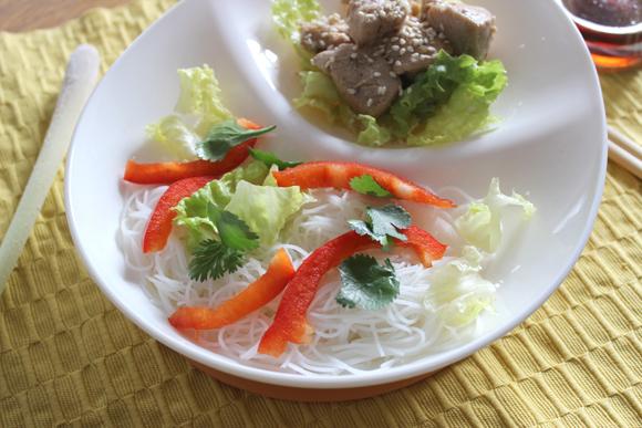 recette de salade qui change