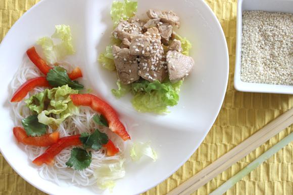 salade poulet citronelle