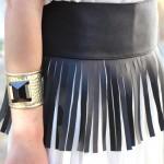 DIY : La ceinture plastron à franges