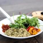 Recette : La salade de quinona façon italienne