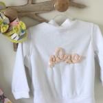 DIY : Personnaliser une veste avec le prénom de votre enfant