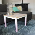 DIY Déco : Le relooking de la petite table d'appoint IKEA