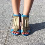 DIY : Les clips à chaussures à franges