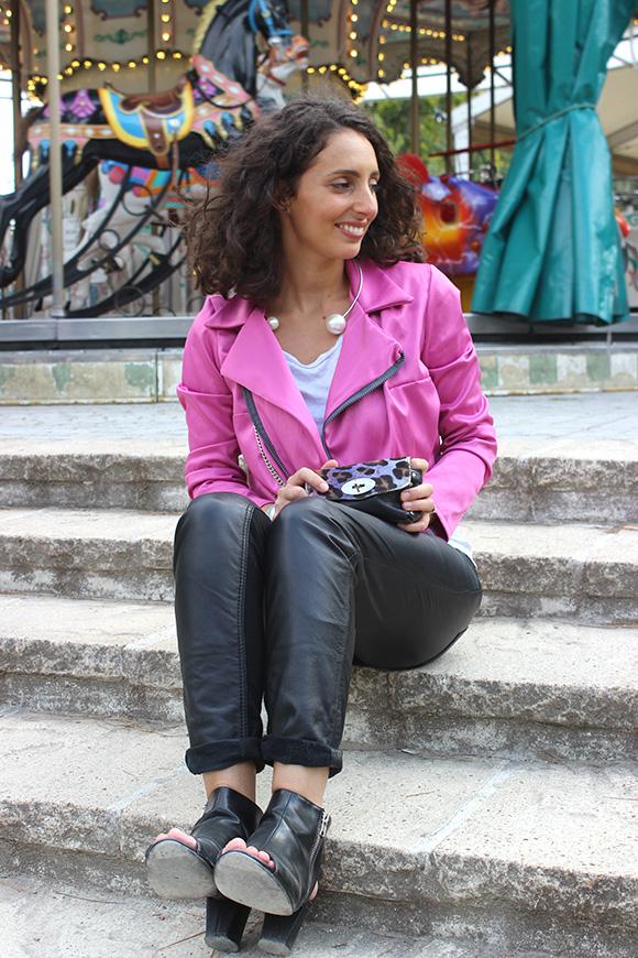 pantalon en cuir soft grey modress chaussures