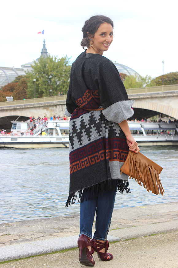 Berühmt DIY : Le poncho ultra-facile – blog mode, bon plans et DIY XE46