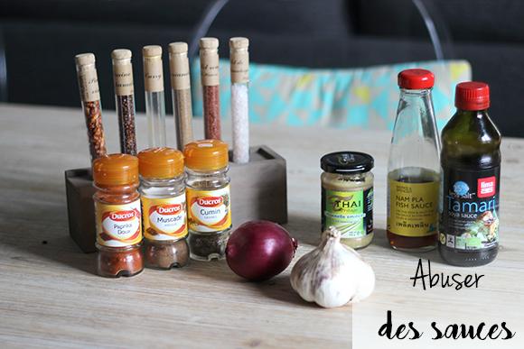 astuces régime abuser des sauces