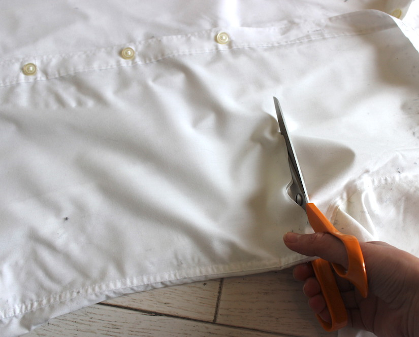 couper la chemise ilovediy