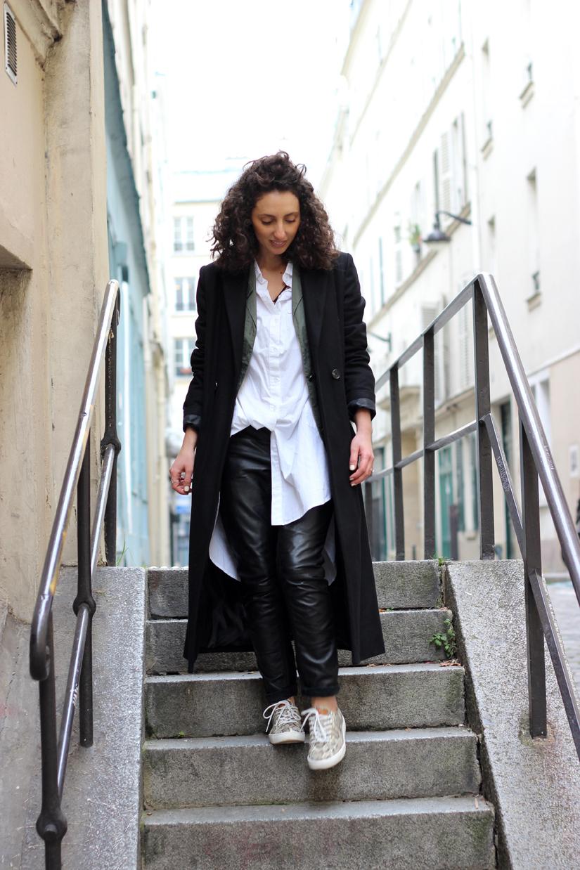 porter le manteau long quand est petite blog mode paris2