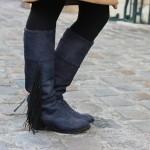 DIY : Upcycler des bottes avec de la teinture et des franges