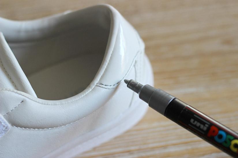 customisez les coutures de ses sneakers