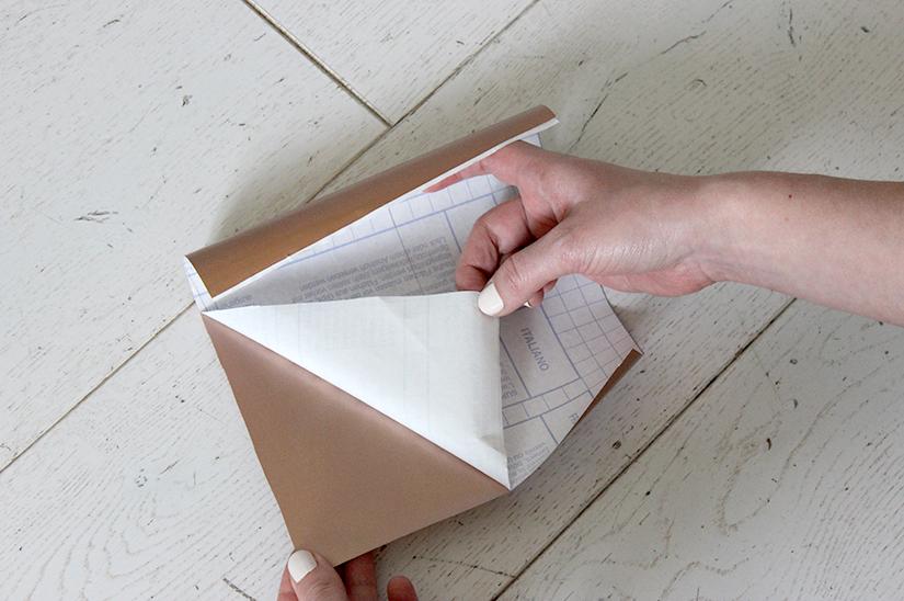 decoller le papier