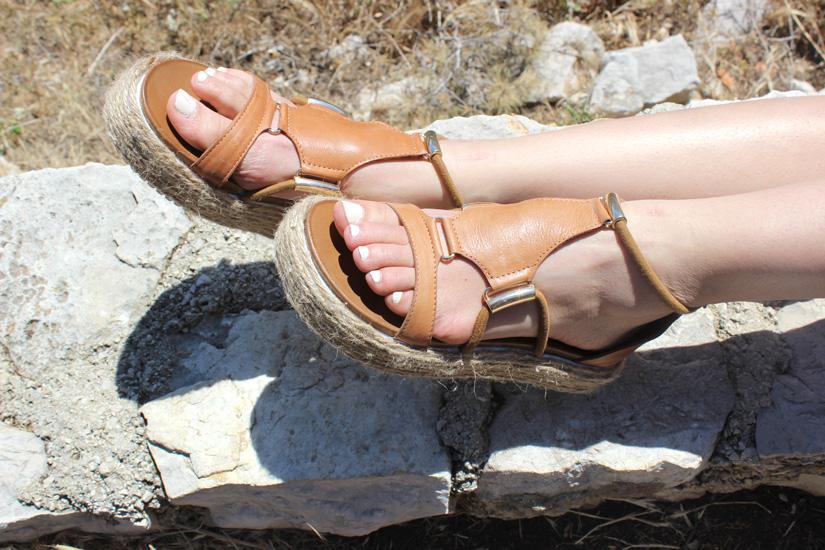 relooking de sandales diy