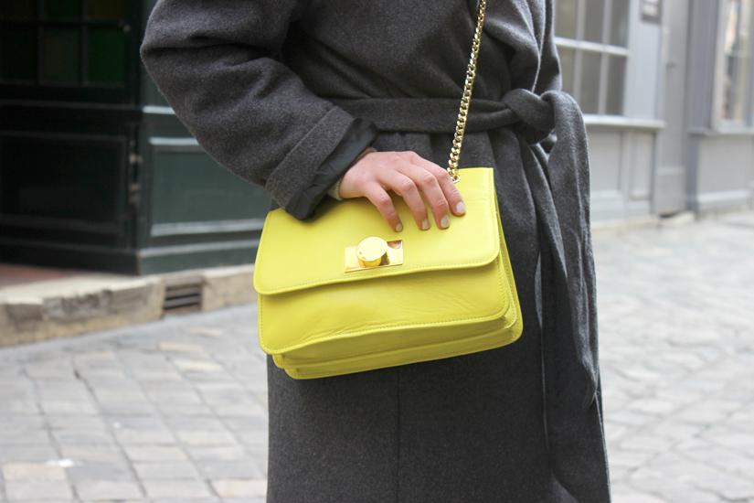 sac tara jarmon jaune neon marques avenue