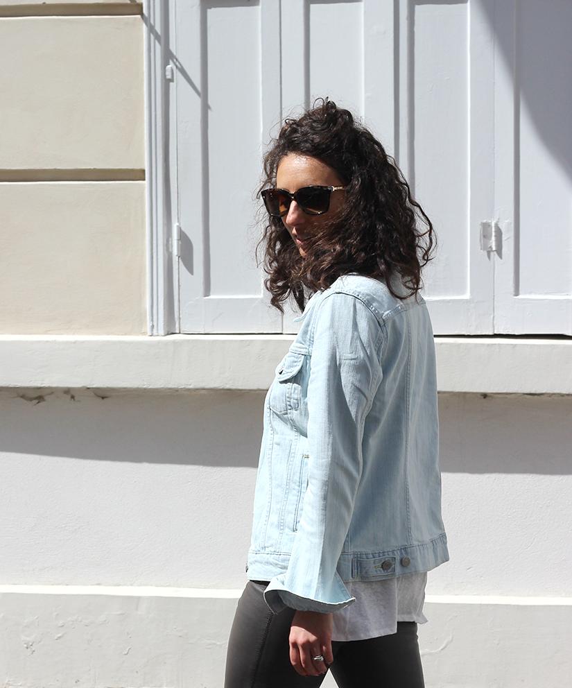 veste en jeans levis quai des marques bon plan blog mode paris