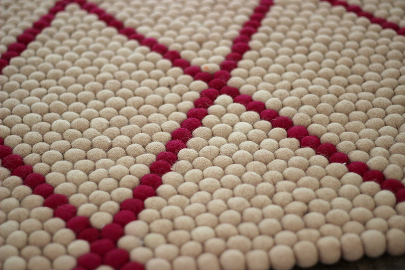 tapis a boules personnalise