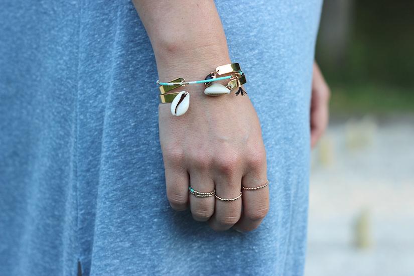 bracelet et bague DIY