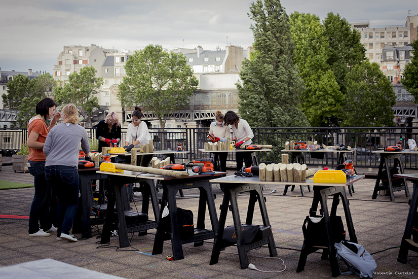 le point ephemere rooftop paris