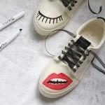DIY : Les baskets personnalisables