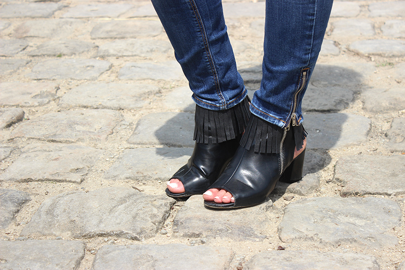 diy fringe boots tutorial