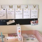 DIY : Le weekly planner marbre et doré