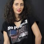 DIY  : Le tee-shirt rock à empiècement effet ras du cou