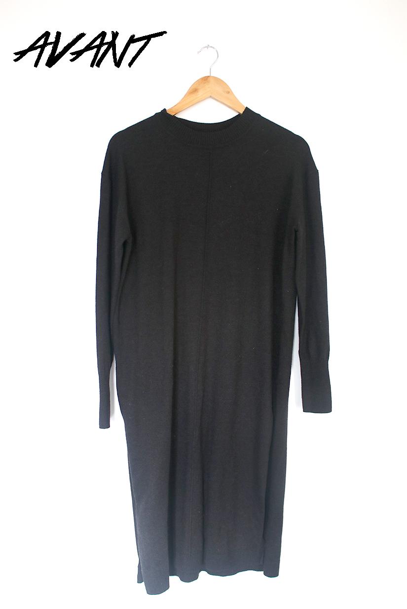 robe en laine avant