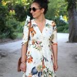 Look : La robe longue fleurie
