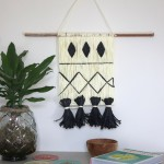 DIY : La suspension façon tissage en raphia