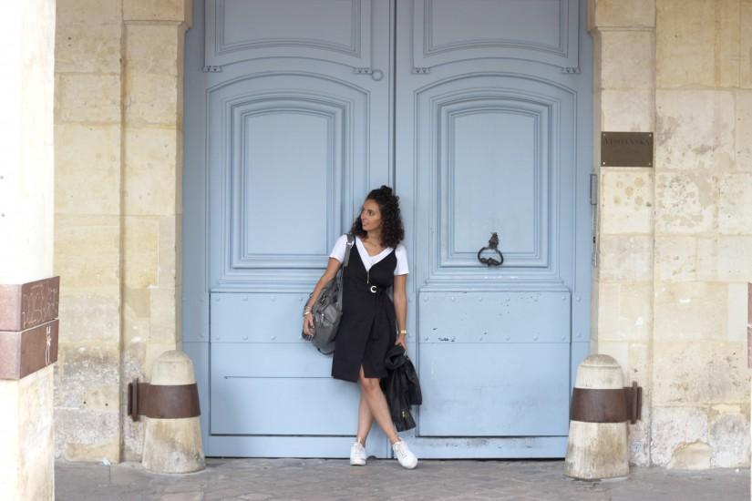la robe noire en mode sport