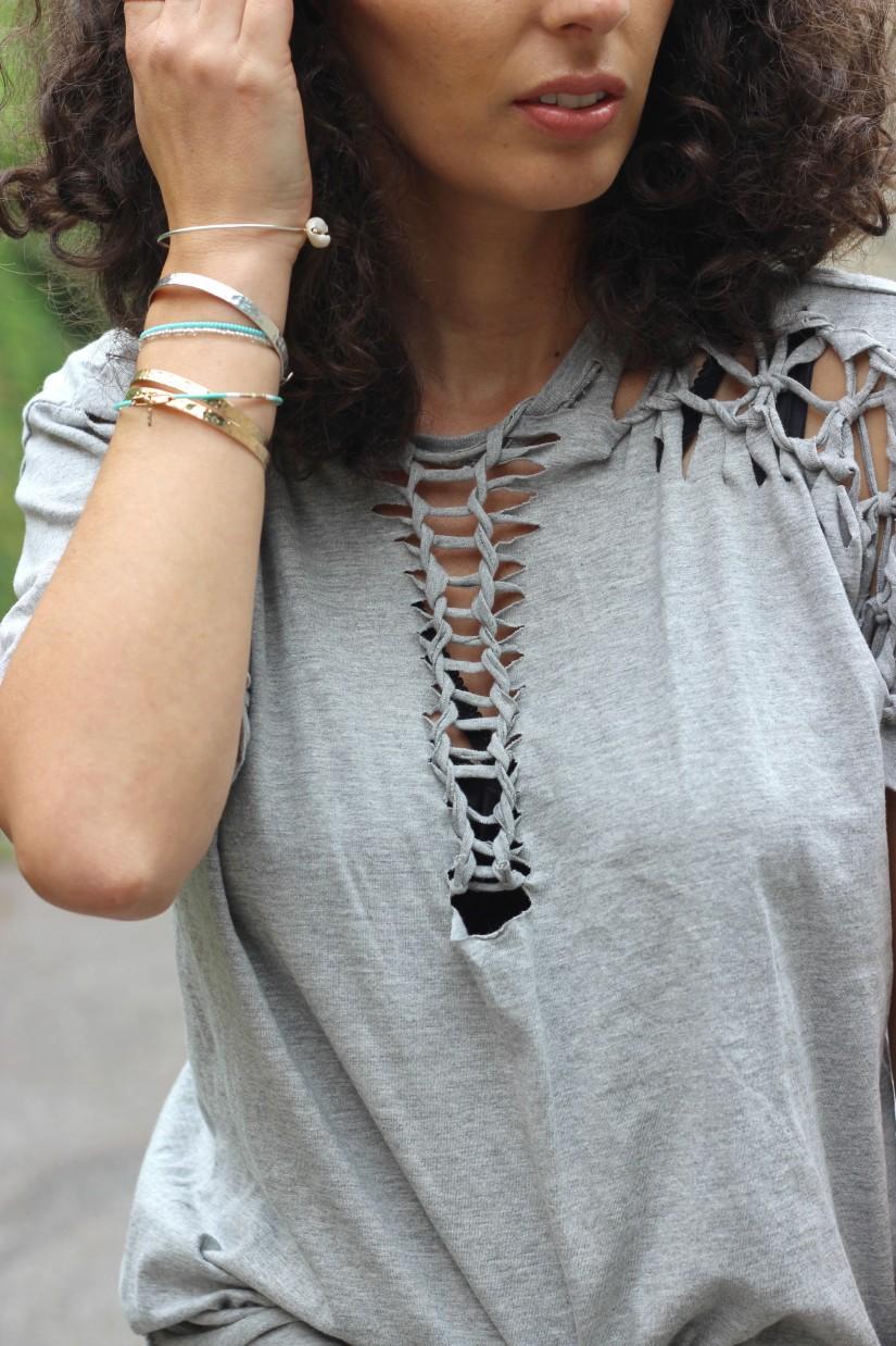 tee shirt macrame diy ilove diy blog mode