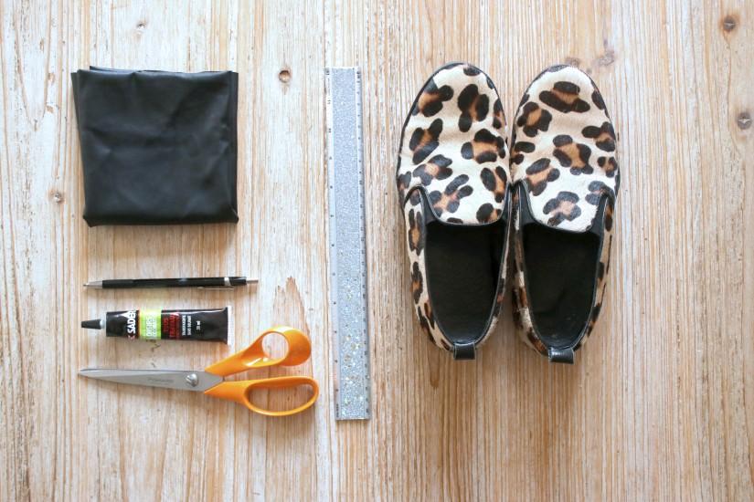 materiel pour creer des bow shoes